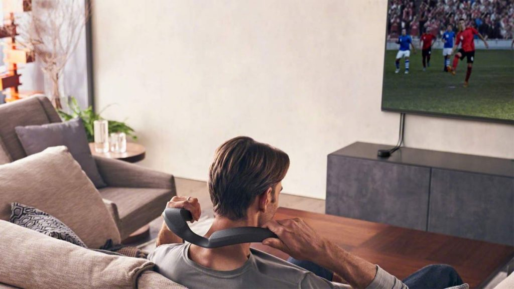 Sony launches Dolby Atmos neckband speakers