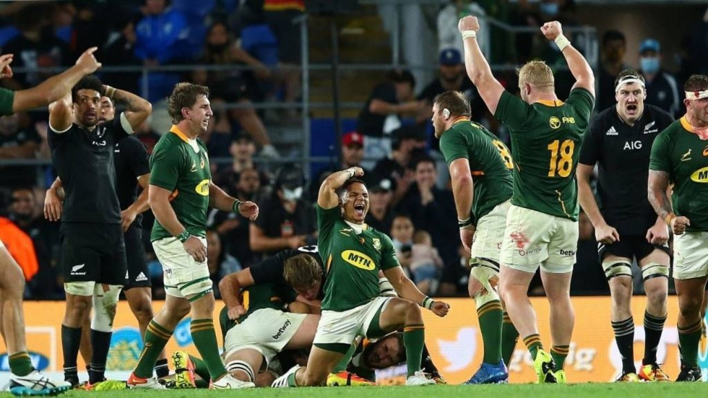 South Africa won the historic match against New Zealand
