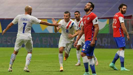 What time is Chile vs.  Paraguay from Qatar 2022 qualifiers?