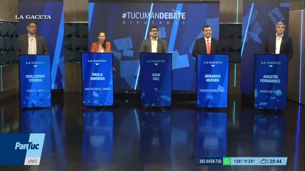 elections.  In the first #TucumánDebate, only the left raised an agenda to defend workers